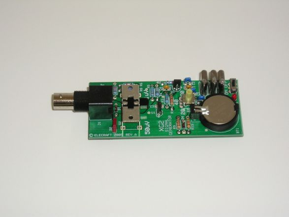 Techfoto receiver test oscillators meter calibrator elecraft xg2 rf output of 1 uv and 50 uv into 50 ohms on 35795 mhz 7040 mhz and 14060 mhz freerunsca Images